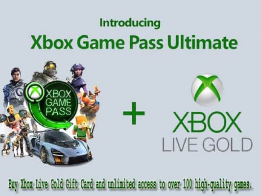 Buy Xbox Live Gold Card