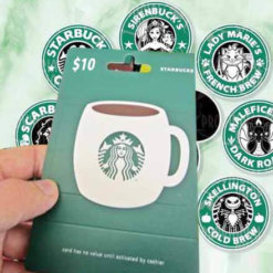 Buy $10 Starbucks US Gift Card