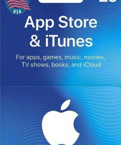 Buy $25 iTunes US Gift Card
