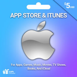 Buy $5 iTunes US Gift Card