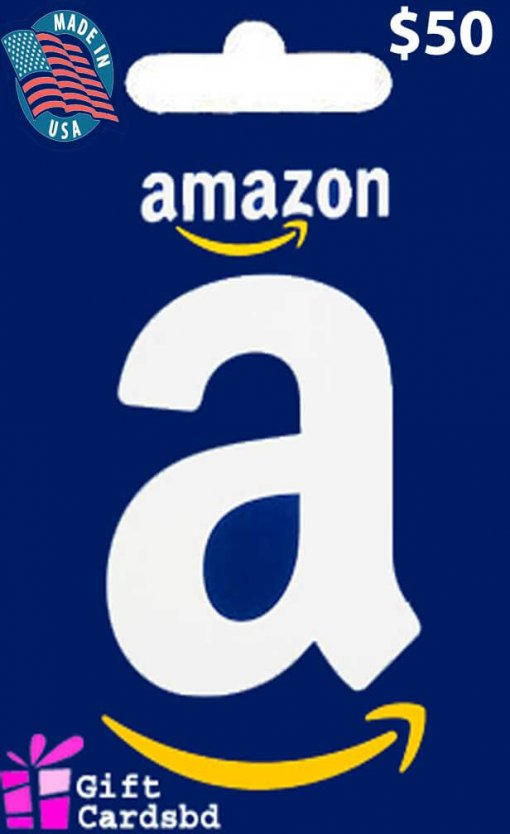 Buy $50 Amazon US Gift Card