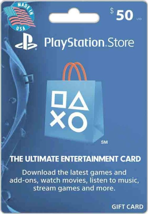 Buy $50 PSN US Gift Card