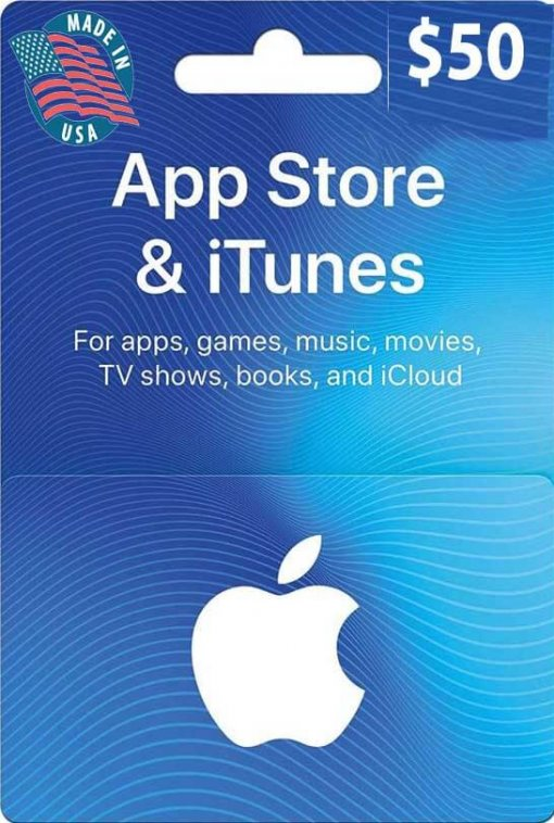Buy $50 iTunes US Gift Card